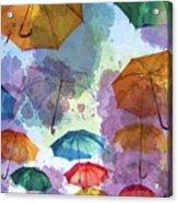 Umbrella Sky Acrylic Print