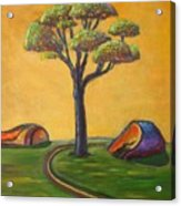 Umbrella Tree Acrylic Print