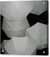 Umbrellas 1 Acrylic Print