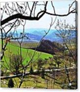 Umbria Mountains Acrylic Print
