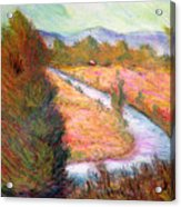Umbrian Landscape Acrylic Print