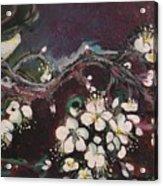 Ume Blossoms Acrylic Print