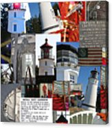 Umpqua River Lighthouse Collection Acrylic Print