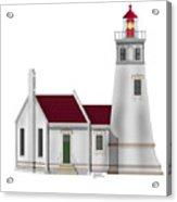 Umpqua River Lighthouse  In Oregon Acrylic Print