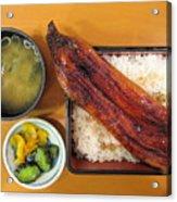 Unagi Lunch Box Acrylic Print