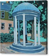 Unc Old Well Acrylic Print