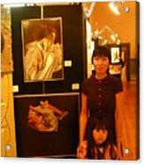 Unclad 2007 Exhibit Acrylic Print