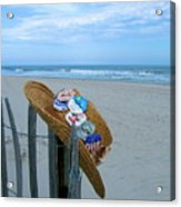 Uncle Carl's Beach Hat Acrylic Print