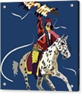 Unconquered Acrylic Print