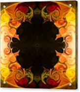 Undecided Bliss Abstract Healing Artwork By Omaste Witkowski Acrylic Print