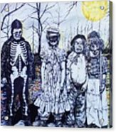 Under A Halloween Moon Acrylic Print