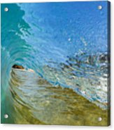 Under Breaking Wave Acrylic Print