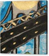Under Brooklyn Bridge Ny II Acrylic Print