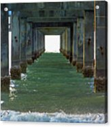 Under Clearwater Pier 60 Acrylic Print