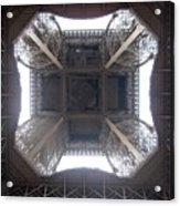 Under Eiffel Acrylic Print