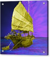 Under Golden Sails Acrylic Print