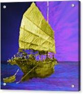 Under Golden Sails Acrylic Print