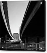 Under Interstate 5 Sacramento Acrylic Print