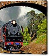 Under Steam Acrylic Print