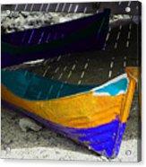 Under The Boardwalk 2 Acrylic Print