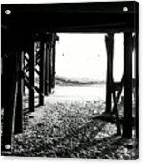 Under The Boardwalk Acrylic Print