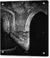 Under The Dark Arches Acrylic Print