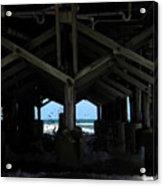 Under The Daytona Beach Pier 002 Acrylic Print