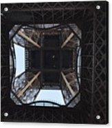 Under The Eiffel Acrylic Print