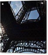 Under The Eiffel II Acrylic Print
