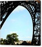 Under The Eiffel Tower Acrylic Print