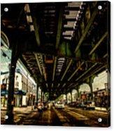Under The El Acrylic Print