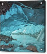 Under The Glacier Acrylic Print