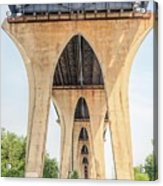 Under The Leo Frigo Bridge Green Bay  Acrylic Print
