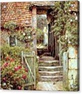 Under The Old Malthouse Hambledon Surrey Acrylic Print