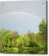 Under The Rainbow Acrylic Print
