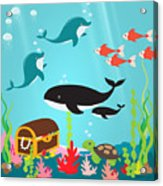 Under The Sea-jp2988 Acrylic Print