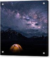 Under The Stars Acrylic Print