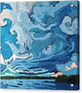 Under The Storm Acrylic Print