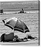 Under The Umbrella Acrylic Print