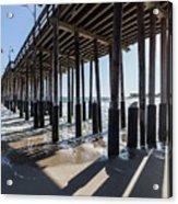 Under The Ventura Pier In Southern California Acrylic Print