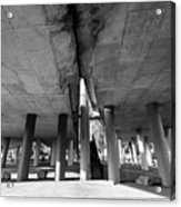 Under The Viaduct A Urban View Acrylic Print
