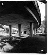 Under The Viaduct C Urban View Acrylic Print