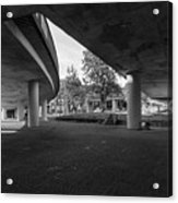 Under The Viaduct D Urban View Acrylic Print