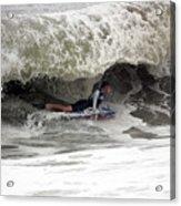 Under The Wave Acrylic Print