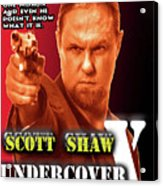 Undercover X Acrylic Print by The Scott Shaw Poster Gallery