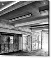 Underground Bw Acrylic Print