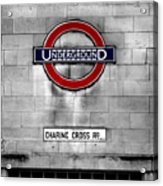 Underground Acrylic Print