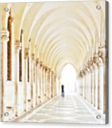 Underneath The Arches Acrylic Print by Marion Galt