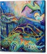 Undersea Adventure Acrylic Print