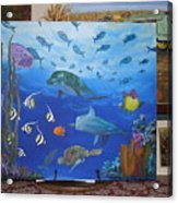Undersea Friends Acrylic Print